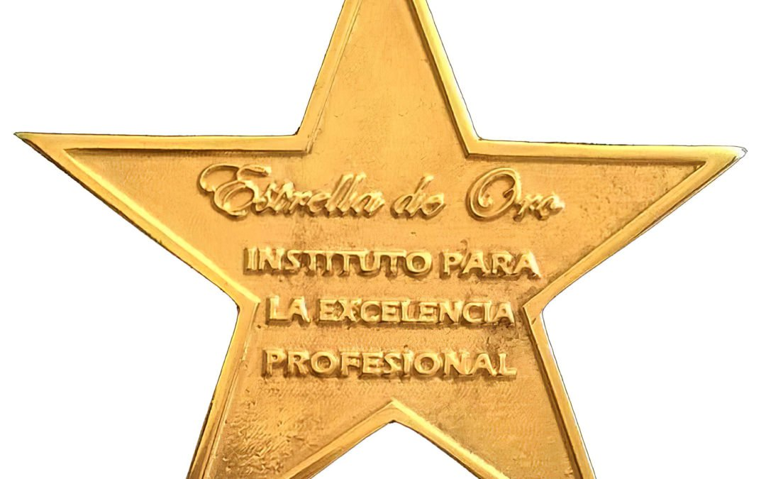 GOLD STAR AWARD FOR LABORAL EXCELLENCE